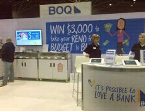 Bank Of Queensland – HIA Home Shows Exhibition Stand