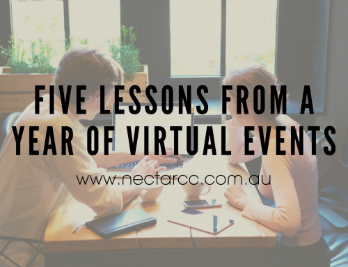 Five lessons from a year of virtual events