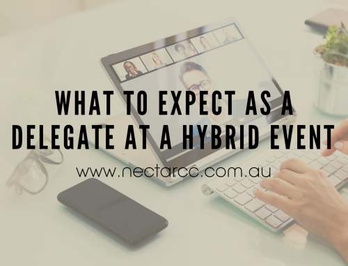 What to expect as a delegate at a Hybrid Event