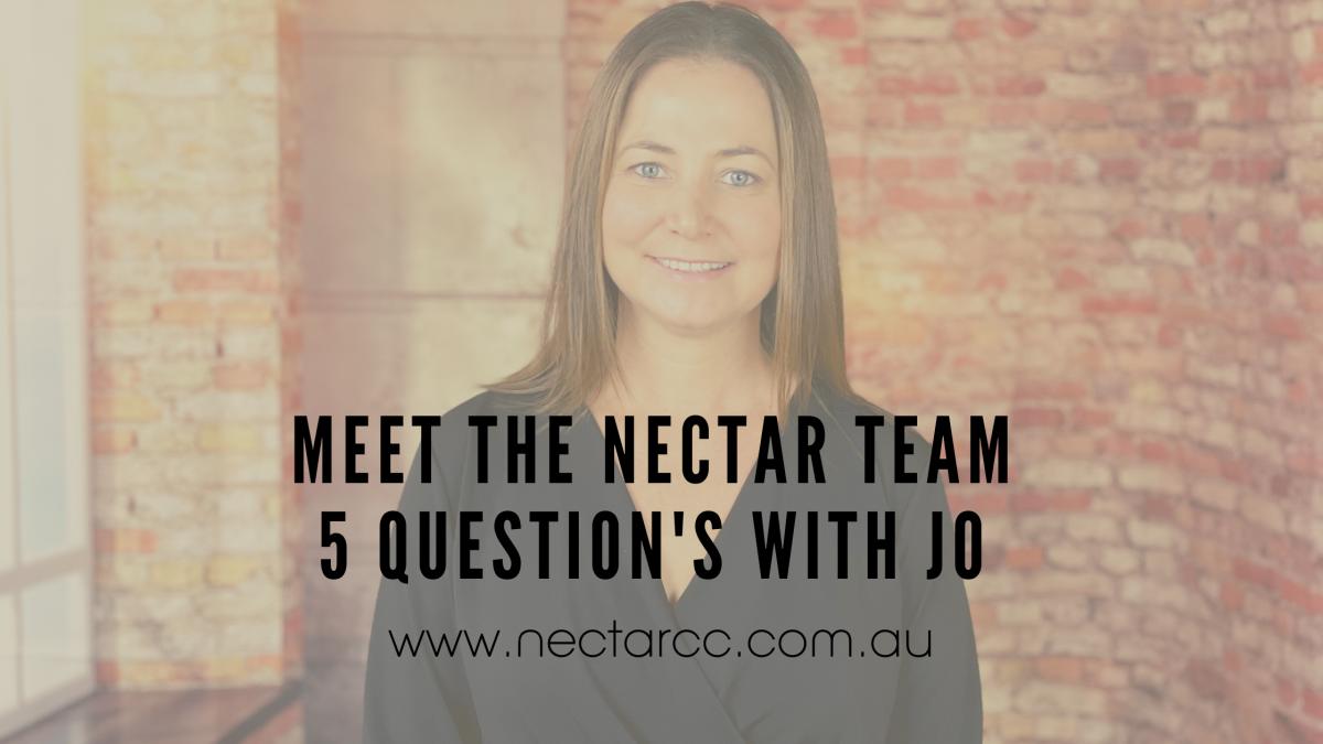 5 qs with Jo Nectar