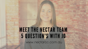 5 qs with Jo Nectar