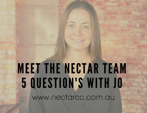 Meet the Nectar team – 5 Q's with Jo