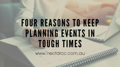 planning events in tough times
