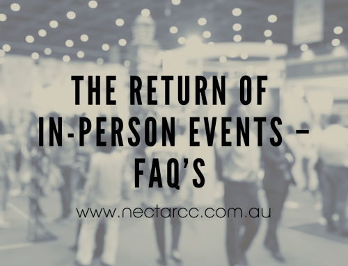The return of in-person events – FAQ's